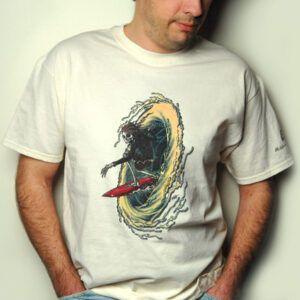 CAMISETA Camiseta PlanetWaves de diseño exclusivo licenciaAl McWhite. Talla XL