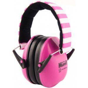 TAPONES PARA LOS OIDOS Auriculares de protección Alpine Muffy Pink. El Alpine Muffy ha sido especialmente diseñado para los oídos de los niños pequeños y puede ser utilizado en diversas situaciones ruidosas