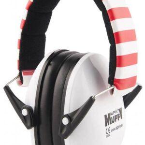TAPONES PARA LOS OIDOS Auriculares de protección Alpine Muffy White. El Alpine Muffy ha sido especialmente diseñado para los oídos de los niños pequeños y puede ser utilizado en diversas situaciones ruidosas
