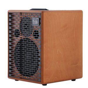 AMPLIFICADOR PARA GUITARRA ACUSTICA 'El One ForString 8 es un amplificador de guitarra acústica bi aplificado de 200 watios con un woofer de 8 pulgadas y compressor tweeter. Esta dotado de 3 entradas (2 MIC-LINE y 1 LINE) con PEAK LED