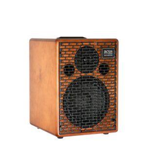 AMPLIFICADOR PARA GUITARRA ACUSTICA La One ForStrings Extension es una caja de extensión diseñada para combianrse con los equios Acus y conseguir así una PA stereo compacta.Características:Tipologia: 2 vias Bass ReflexRespuesta en frecuencia: 40 Hz - 20 kHzPotencia máxima: 200W RMSSensibilidad: 94dBSPL Max: 116dBCrossover electrónicoWoofer: 8Tweeter a compresioDimensiones: 360x280x290 mmPeso: 13 kgAcabado en madera